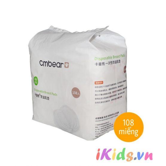 Miếng lót thấm sữa Cmbear (Bịch 108 miếng)