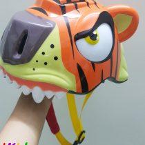 Mũ bảo hiểm hình đầu hổ