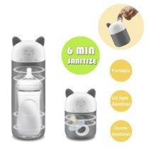 Máy tiệt trùng UV Bimirth khử trùng bình sữa, núm ti giả mini đa năng