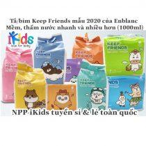 Bỉm Keep Friends dán/quần đủ size (nội địa Hàn Quốc)
