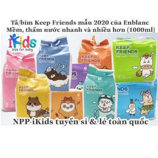 Bỉm Keep Friends Dán (nội địa Hàn quốc)