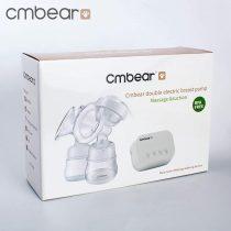 Máy hút sữa đôi Cmbear có chức năng massage (bản rút gọn)